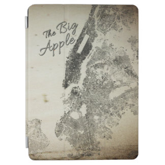 The Big Apple NYC Streets Vintage Design Cover iPad Air Cover