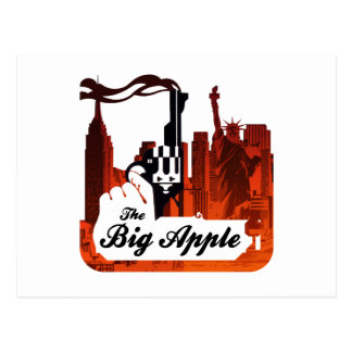 The Big Apple Postcard