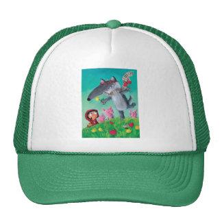 The Big Bad Wolf Trucker Hats