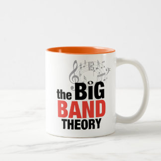 The Big Band Theory Two-Tone Coffee Mug