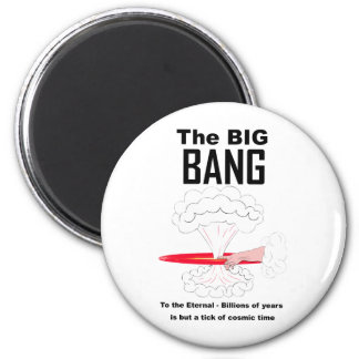 The Big Bang Theory 6 Cm Round Magnet