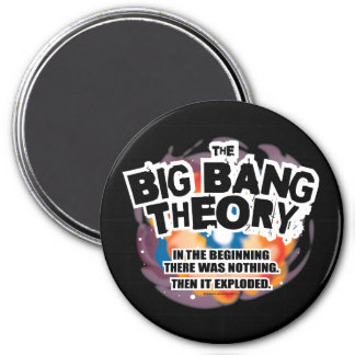 The Big Bang Theory 7.5 Cm Round Magnet