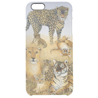 The Big Cats Clear iPhone 6 Plus Case