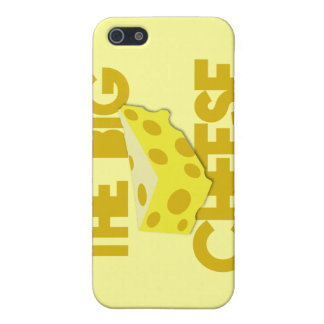 The BIG CHEESE! boss iPhone 5/5S Covers