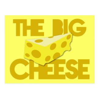 The BIG CHEESE! boss Postcard