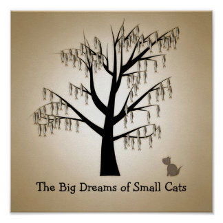 The Big Dreams of Small Cats Poster