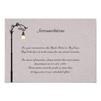 The Big Easy Wedding Insert Card