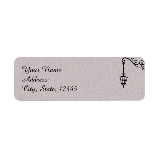 The Big Easy Wedding Label