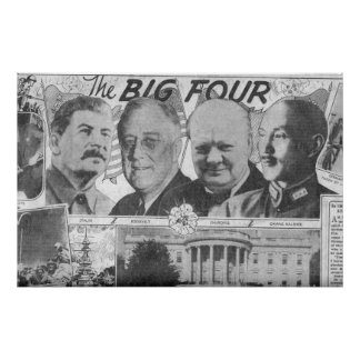 The Big Four 1943 Poster