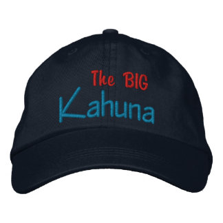 The BIG  Kahuna Embroidered Cap Embroidered Hat