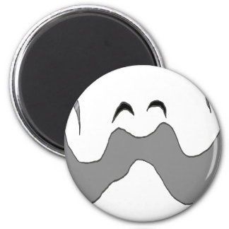 THE BIG MOUSTACHE EYEBROWS 1.PNG REFRIGERATOR MAGNET