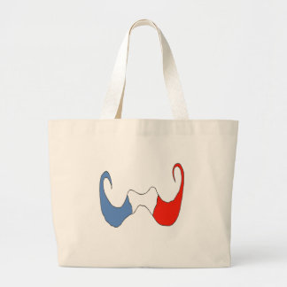 THE BIG MOUSTACHE FRENCH 1 PNG CANVAS BAGS