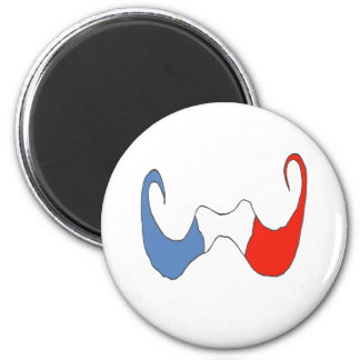 THE BIG MOUSTACHE FRENCH 1 PNG REFRIGERATOR MAGNET