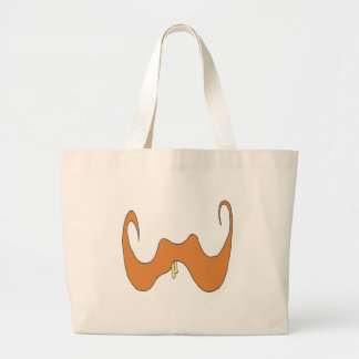THE BIG MOUSTACHE TEETH 1 PNG CANVAS BAGS