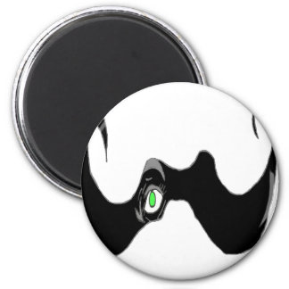 THE BIG OPEN MOUSTACHE EYE 1.PNG MAGNETS