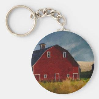 The Big Red Barn Key Ring