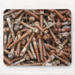 The Big Rusty Bolts Mouse Pad