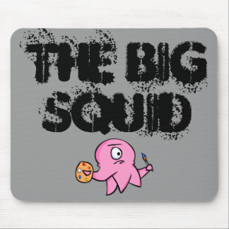The BIG Squid mouse pad