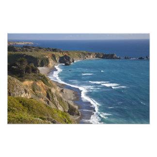 The Big Sur coastline in California, USA Photo