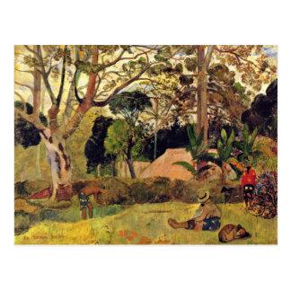 The Big Tree (Te Rahi Raau) By Gauguin Paul Postcard