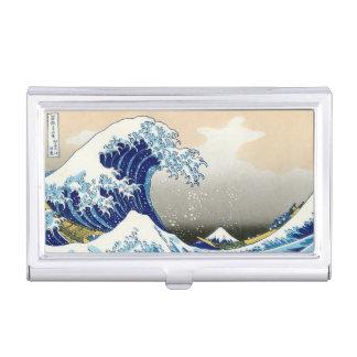 The Big Wave of Kanagawa Hokusai Katsushika art Business Card Cases