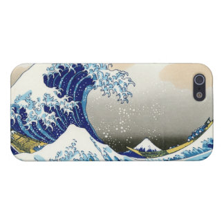 The big wave of Kanagawa Katsushika Hokusa Case For The iPhone 5