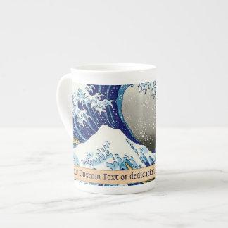 The big wave of Kanagawa Katsushika Hokusai art Bone China Mug