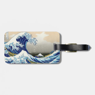 The big wave of Kanagawa Katsushika Hokusai Bag Tag