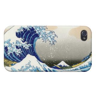 The big wave off Kanagawa Katsushika Hokusa iPhone 4/4S Case