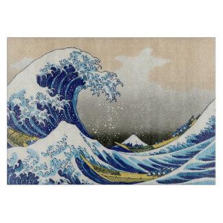 The big wave off Kanagawa Katsushika Hokusai art Cutting Boards