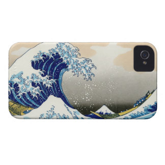 The big wave off Kanagawa Katsushika Hokusai iPhone 4 Case