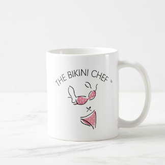 The Bikini Chef Logo Coffee Mug