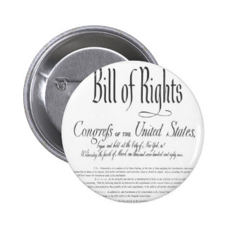 The Bill of Rights Buttons