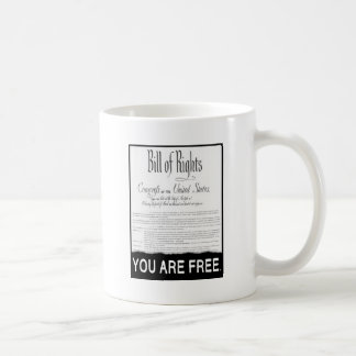 The Bill of Rights Basic White Mug