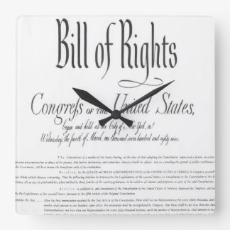The Bill of Rights Clock