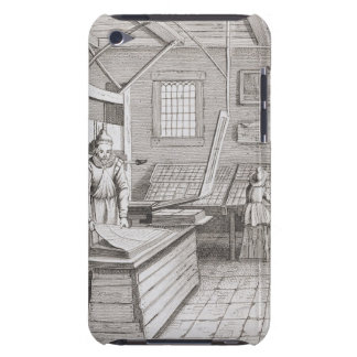 The bindery of Laurens Janszoon Koster, engraved b iPod Touch Cases