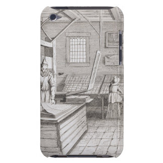 The bindery of Laurens Janszoon Koster, engraved b iPod Touch Covers