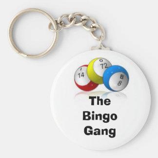 The Bingo Gang Key Ring
