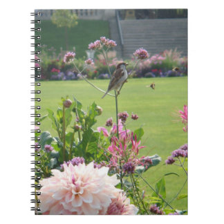 The bird and the bees notebook or journal