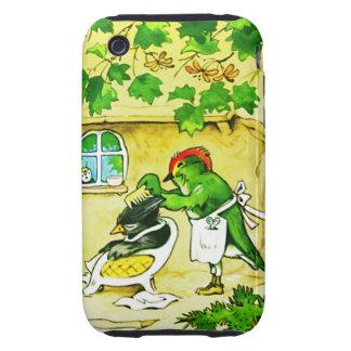 The Bird Barber Tough iPhone 3 Case
