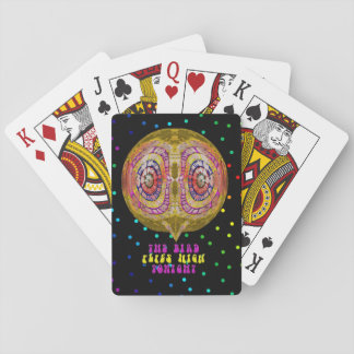 The Bird Flies High Tonight Playing Cards