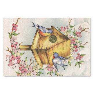 The Birdhouse Tissue Paper