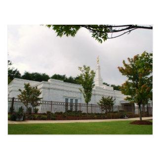 The Birmingham Alabama LDS Temple Postcard