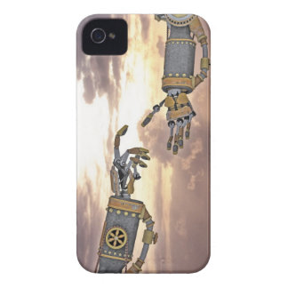 The Birth of Artificial Intelligence iPhone 4 Case