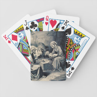 The birth of Christ Bicycle Playing Cards