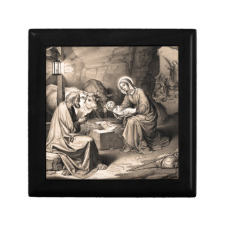 The birth of Christ Gift Box