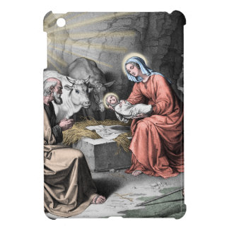 The birth of Christ iPad Mini Covers