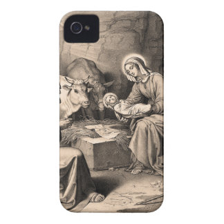 The birth of Christ iPhone 4 Case-Mate Case