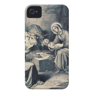 The birth of Christ iPhone 4 Case-Mate Cases