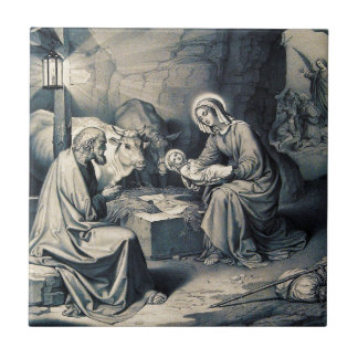 The birth of Christ Tile